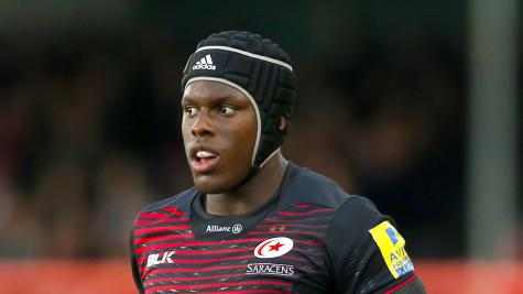Maro Itoje keen to help Saracens down Ospreys after early return from broken jaw