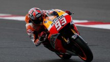 Marc Marquez will start from pole position in Argentina