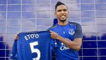 Samuel Eto'o could face his former club