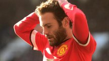 Mata has scored five goals for United this season