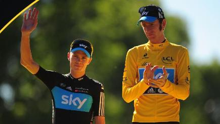 Froome, Wiggins medical reports released by Russian hackers
