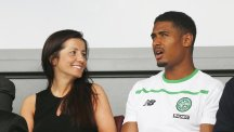 Saidy Janko, right, is aiming high after moving to Celtic
