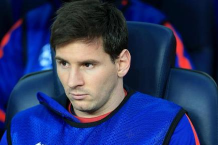 Lionel Messi, pictured, praised Cristiano Ronaldo and also said he wants to stay at Barcelona