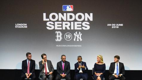 New York Yankees & Boston Red Sox to play each other in London