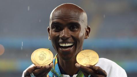 Mo Farah still hungry for success despite another golden Olympic double