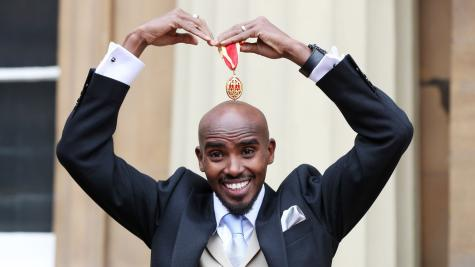 'It's been incredible,' says Sir Mo Farah on receiving knighthood from Queen""