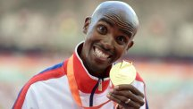 Mo Farah has another medal in his possession