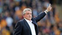 Steve Bruce points the way to a possible fourth promotion to the top flight