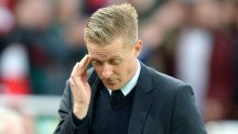 Garry Monk was furious with the decision to award Stoke a penalty