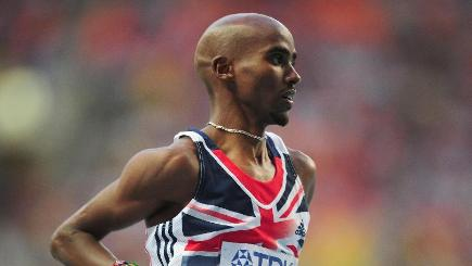 Mo Farah could only finish eighth on his marathon debut in London