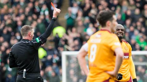 Cedric Kipre 'distraught' by Celtic red card, says Stephen Robinson