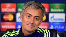 Jose Mourinho feels his Chelsea side are playing beautiful football