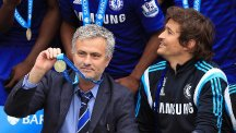 Jose Mourinho has now won three Premier League titles with Chelsea
