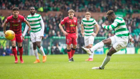 Rodgers: Edouard impressed ahead of Rangers clash