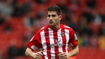 Ched Evans pictured in action for his former club Sheffield United