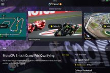Multiscreen coverage on the BT Sport app