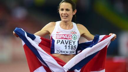 Jo Pavey became the oldest female European champion