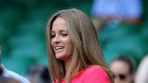 Andy Murray's fiancee Kim Sears appeared to be caught on camera swearing