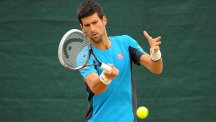 Novak Djokovic remains on course to face clay-court king Rafael Nadal in the French Open quarter-finals