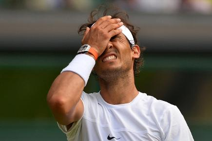 Nadal dumped out of Wimbledon by qualifier