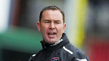 Derek Adams was shown the door at Ross County following a poor start to the season