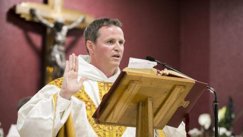 Mulryne goes from Red Devil to priest