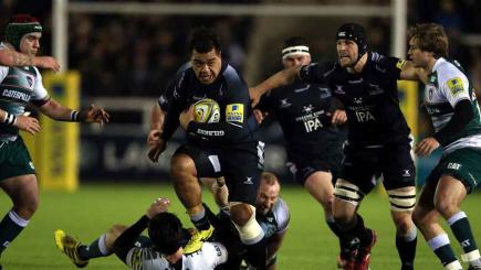 Newcastle Falcons claim surprise win