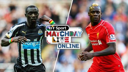Newcastle v Liverpool live on BT Sport