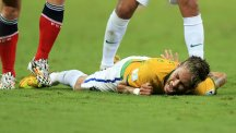 Neymar's World Cup was cruelly ended by a bank injury