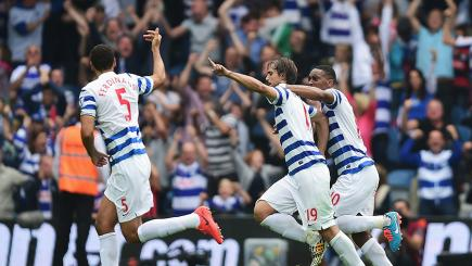 Niko Kranjcar salvaged a point for QPR with a late equaliser