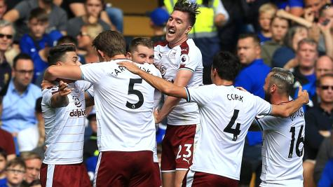 Nine-man Chelsea stunned by Burnley as Premier League title defence starts badly