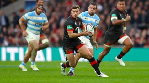 No home comforts for George Ford as former housemate Jonny May is pitch perfect