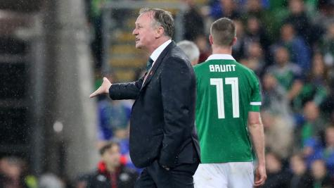 Northern Ireland must channel penalty pain, says Michael O'Neill