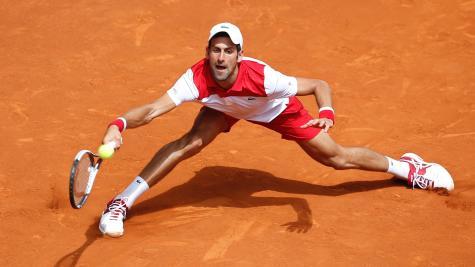 Solid start for Djokovic in Rome