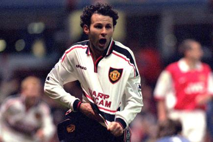 One of Giggs' most famous goals came against Arsenal in the FA Cup in 1999