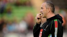 Conor O'Shea, pictured, is not moved by Lawrence Dallaglio's critical comments