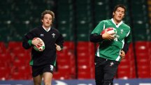 Martin Roberts, left, helped Ospreys to victory over Connacht
