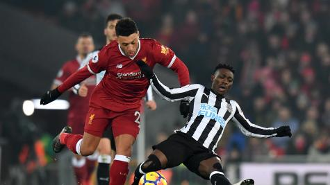 Liverpool 2-0 Newcastle - highlights