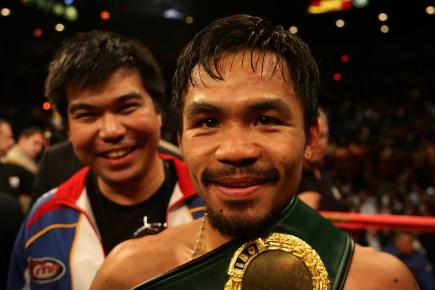 Manny Pacquiao will get a chance at redemption against Tim Bradley