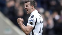 Alan Pardew wants Steven Taylor, pictured, to keep his cool in Sunday's derby