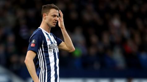 West Brom taxi incident: Jonny Evans & Gareth Barry start FA Cup tie
