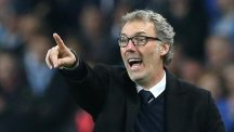 Laurent Blanc left his role as Paris St Germain boss after three years on Monday