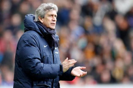 Manchester City boss Manuel Pellegrini has faith in his defence