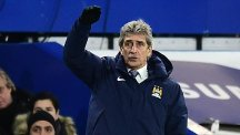 Manuel Pellegrini was 'very proud' of his Manchester City side's approach against Chelsea