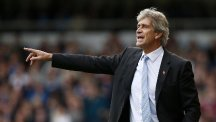 Manuel Pellegrini's side are on the brink of Champions League elimination