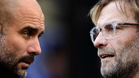 Pep Guardiola and Jurgen Klopp will battle it out again