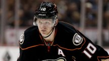 Corey Perry scored three times as the Ducks recorded a 4-1 victory (AP)