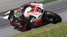 Petrucci suffers small crash, Pirro works on electronics