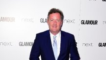Piers Morgan, pictured, asked Gerard Pique to sign for Arsenal