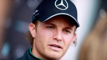 Nico Rosberg missed out on pole by the slenderest of margins